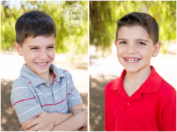 Connie Hanks Photography // ClickyChickCreates.com // family photos, San Diego family photography, family photo session, siblings, rustic, Los Penasquitos Canyon Preserve