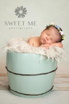 Sweet Me Photography // ClickyChickCreates.com // newborn photography, new baby photography, san diego newborn photography