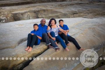 Connie Hanks Photography // ClickyChickCreates.com // La Jolla family photos, San Diego family photography, family photo session, siblings, La Jolla, Windansea Beach