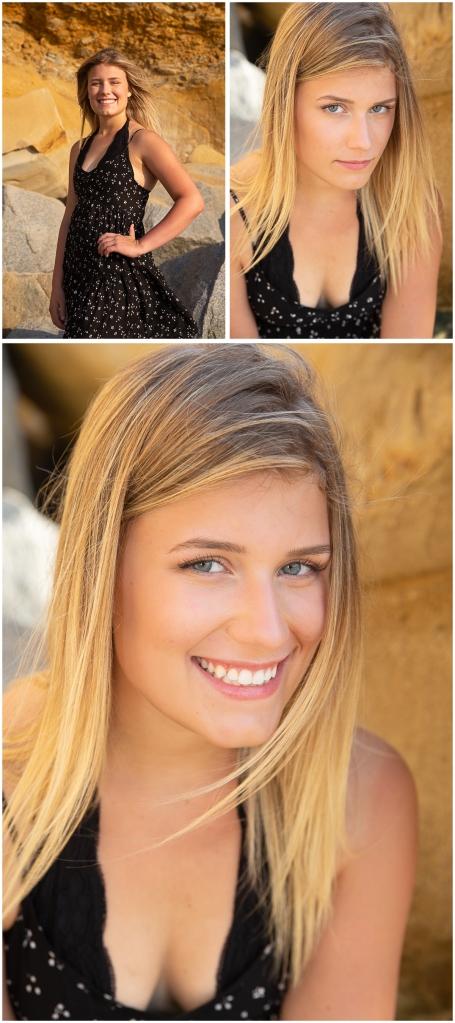 Connie Hanks Photography // ClickyChickCreates.com // La Jolla senior portraits, San Diego senior portraits, beach photo session, La Jolla, Scripps Pier